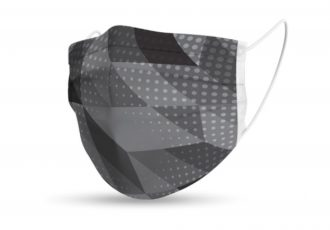 Design Comfort Face Mask - Black/Grey
