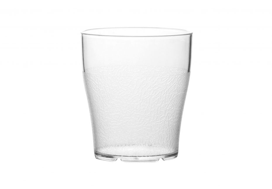 280ml Clear Frosted Tumbler