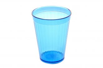 200ml Copolyester Fluted Tumbler in Ocean Blue