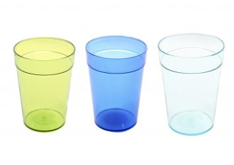 340ml Smooth Tumblers in 3 colours