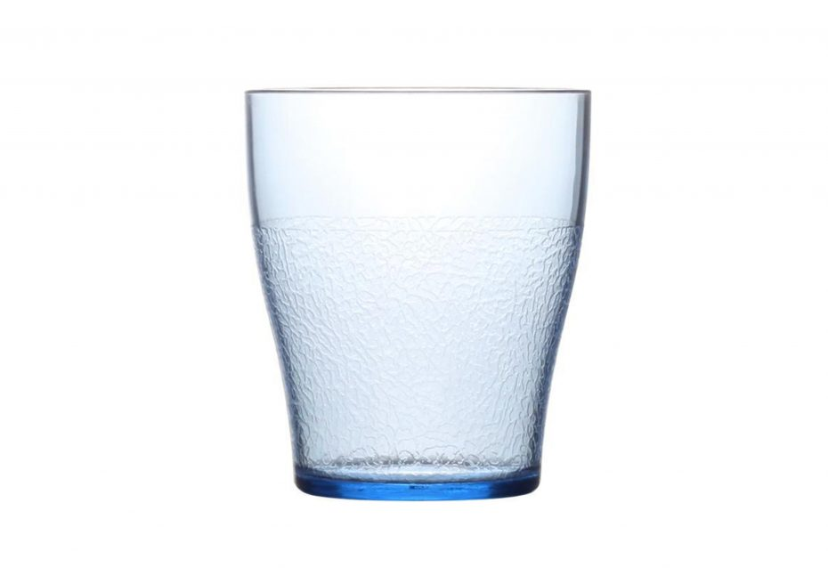 280ml Blue Frosted Tumbler