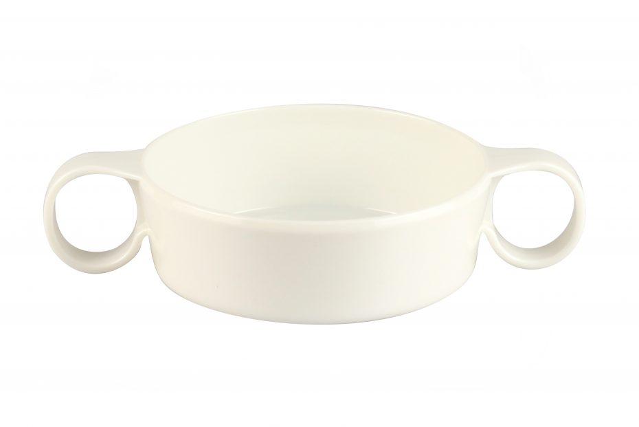 2 Handled Soup Bowl