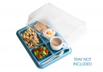 Clear Cover for 3 & 6 Compartment Trays
