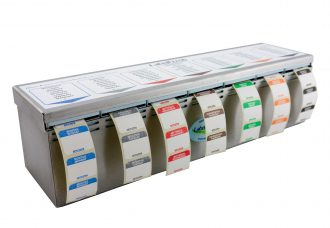 Weekly Labels Dispenser