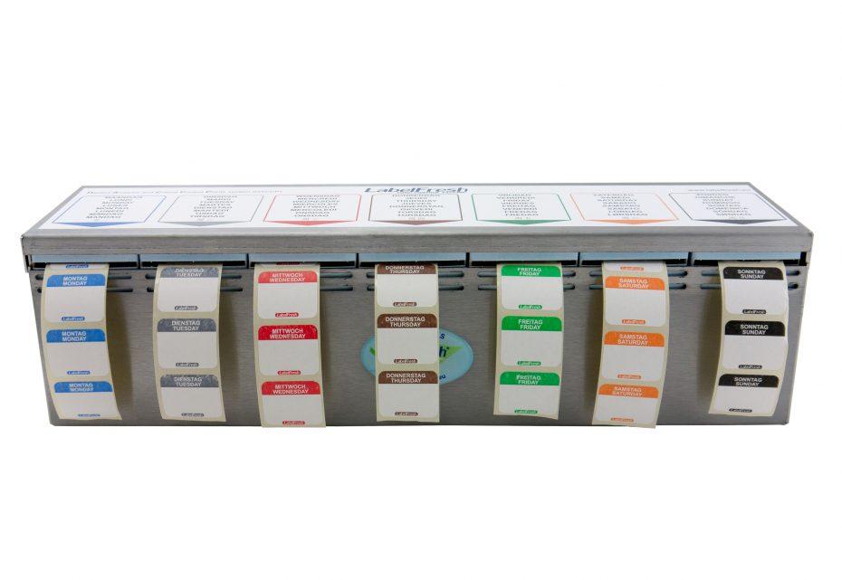 Weekly Label Dispenser