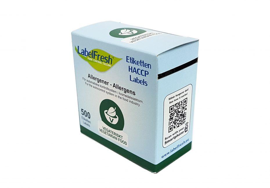 Vegetarian Labels Packshot