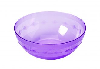 Translucent Purple Bowl