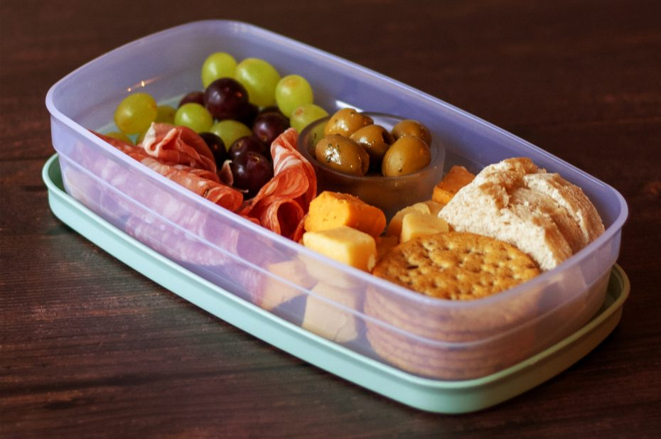 Tapas in Lunch box